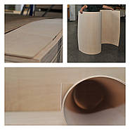 Гнучка фанера – це матеріал, який люблять дизайнери, архітектори та виробники меблів!
