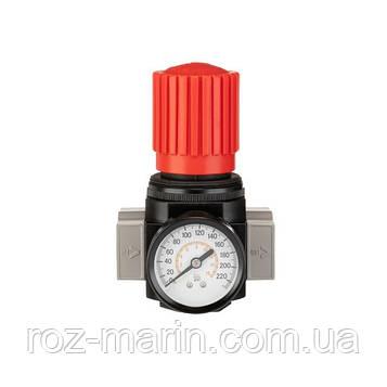 """Регулятор давления 1/2"""", 1-16 бар, 4000 л/мин, профессиональный"""
