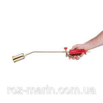 Горелка газовая с регулятором и клапаном 595мм, сопло 110мм, Ø45мм.