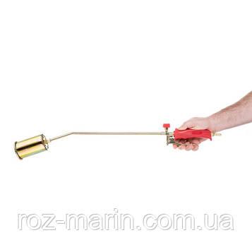 Горелка газовая с регулятором и клапаном 715мм, сопло 125мм, Ø60мм.
