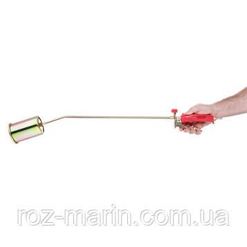 Горелка газовая с регулятором и клапаном 830мм, сопло 138мм, Ø76мм.
