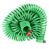 Шланг для полива спиральный 30 м с конекторами INTERTOOL GE-4003