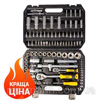 "Набор инструментов 1/2"" & 1/4"" 108ед. MASTERTOOL 78-5108 (набор головок, ключей)"