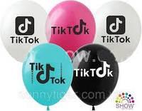 """Повітряна куля 12"""" """"Tik-Tok/YouTube/Instagram"""", фото 1"""