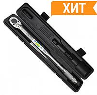 "Динамометрический ключ 1/4"", 2-24 NM INTERTOOL XT-9001"