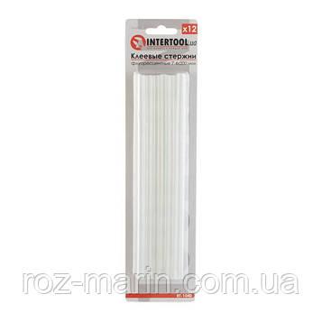 Комплект флуоресцентных клеевых стержней 7.4 мм*200мм, 12 шт