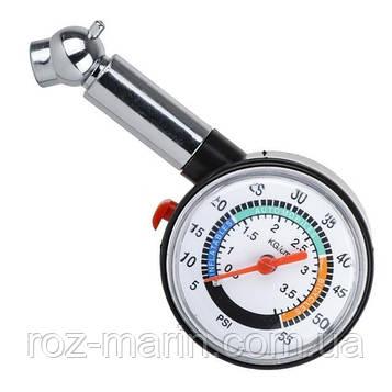 Измеритель давления в шинах стрелочный.
