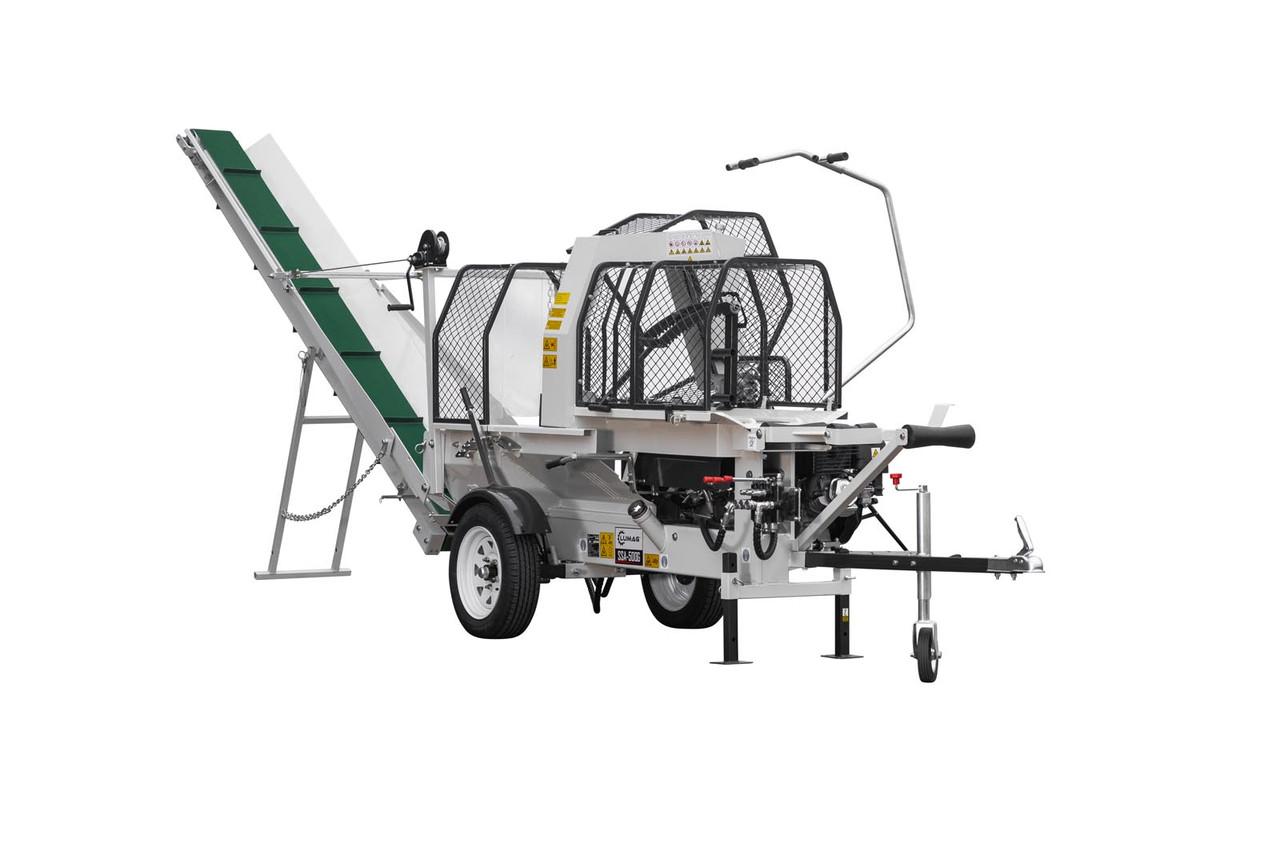 Полуавтоматическая машина для резки и раскола дров Lumag SSA 500G