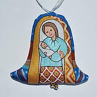 Колокольчик Мария с Иисусом. Вертеп
