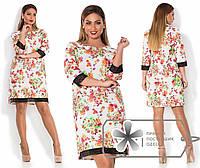 Платье с кружевом 225 Багет
