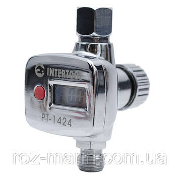Регулятор тиску з цифрововым манометром INTERTOOL PT-1424