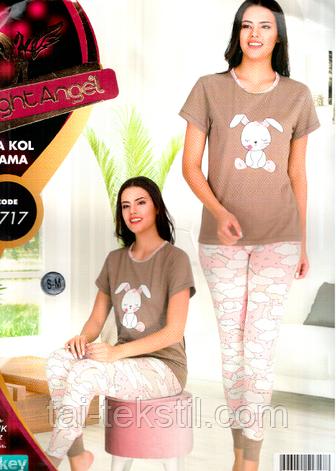 Комплект молодежный футболка + брюки манжет качество хлопок с лайкрой Турция, фото 2