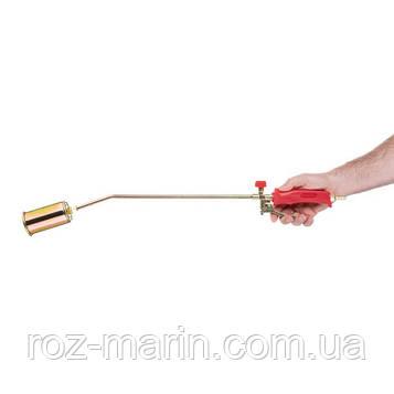 Горелка газовая с регулятором и клапаном 705мм, сопло 115мм, Ø50мм.