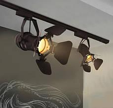 Трекові лофт світильники і світильники зі змінною лампою