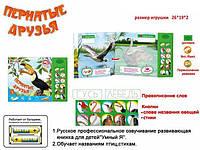 Книжка детская электронная ZYE-E 0112 Пернатые друзья