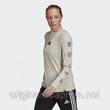 Женский свитшот Adidas Palm Reader Graphic GJ6520 2021