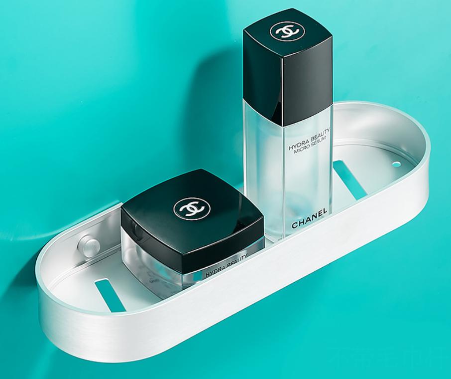 Алюмінієва полиця для ванної кімнати. Модель 3-109.