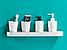 Алюмінієва полиця для ванної кімнати. Модель 3-109., фото 3