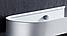 Алюмінієва полиця для ванної кімнати. Модель 3-109., фото 5