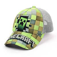 """Детская кепка c сеткой """"Minecraft"""""""
