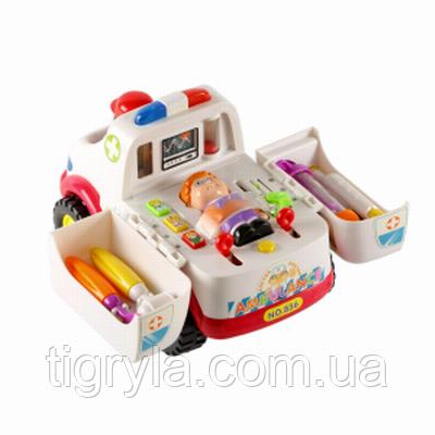 Розвиваюча іграшка Машинка швидка допомога
