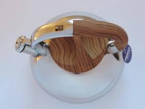 Чайник металл. со свистком FRICO FRU-764, 3 л., фото 2