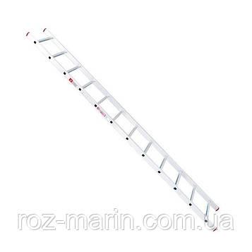 Приставна драбина алюмінієва 12 ступенів INTERTOOL LT-0112