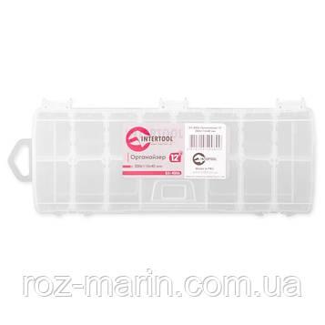 """Органайзер 12"""" 300x115x40 мм INTERTOOL BX-4006"""