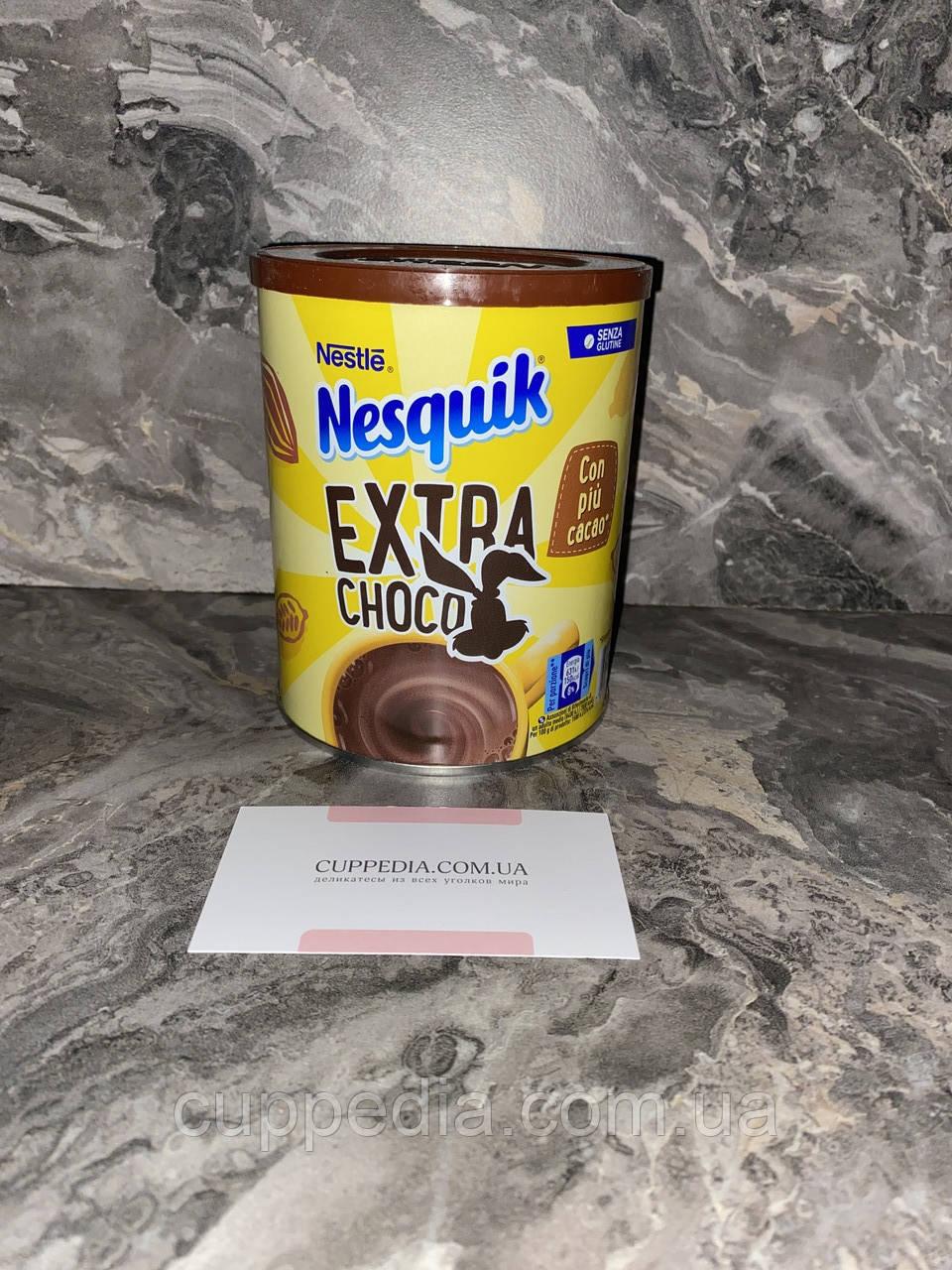 Какао Nesquik  в темном шоколаде без глютена 390 грм