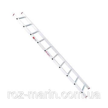 Приставна драбина алюмінієва 10 ступенів INTERTOOL LT-0110