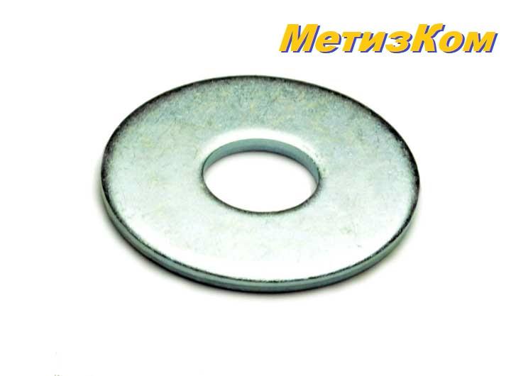 Шайба плоская увеличенная M16x50 DIN 9021 оцинкованная (упаковка 25 шт.)