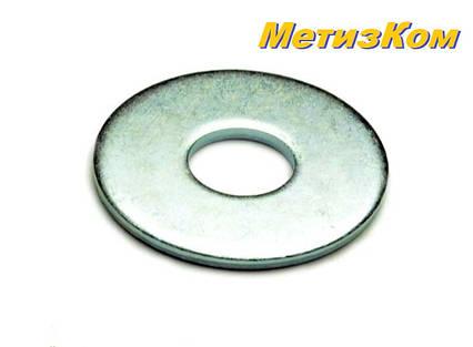 Шайба плоская увеличенная M16x50 DIN 9021 оцинкованная (упаковка 25 шт.), фото 2