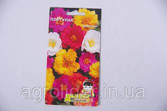 Семена цветов Портулак 0.2г (Малахiт Подiлля)