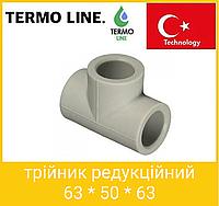 Termo Line трійник редукційний 63 * 50 * 63, фото 1