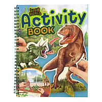 Альбом для игр Dino World (4010070544348)