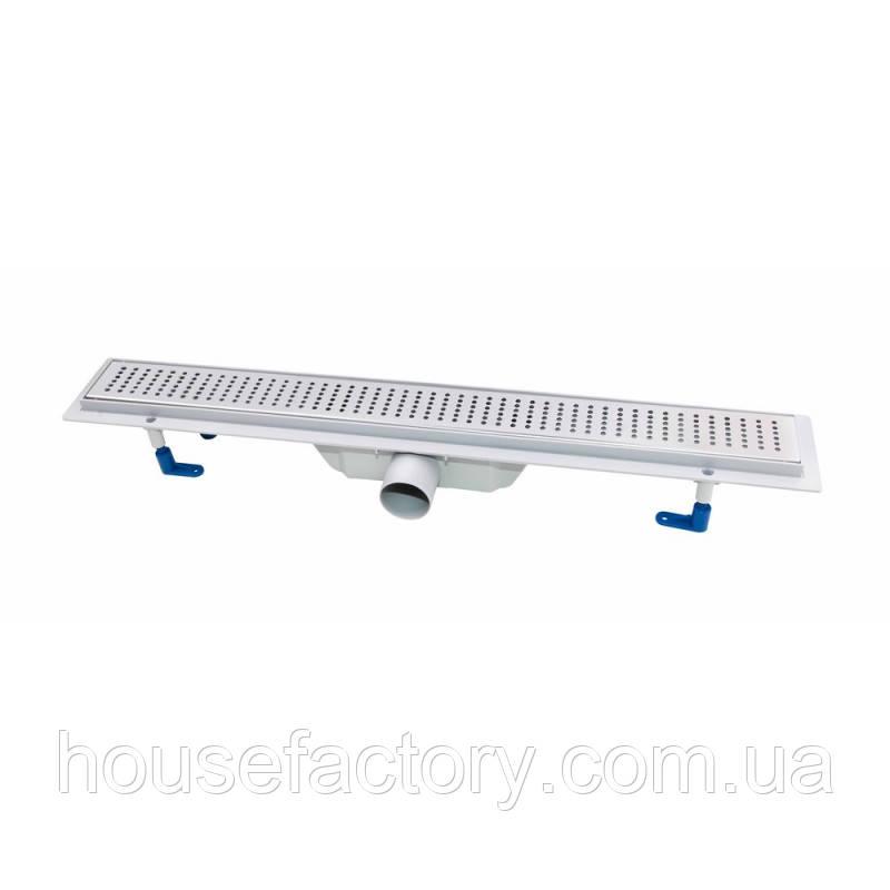 Лінійний трап QT Dry FB304-900 з сухим затвором 900 мм