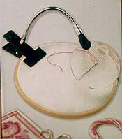 Лупа для рукоделия с гибким держателем и зажимом, 90mm, 2x- кратная. MG 15122-2