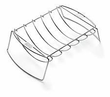 Підставка для реберець та сітка-корзинка для жарки, нержавіюча сталь 6469 WEBER