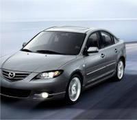 Защита на фары Mazda 3 sed (2003-2008)