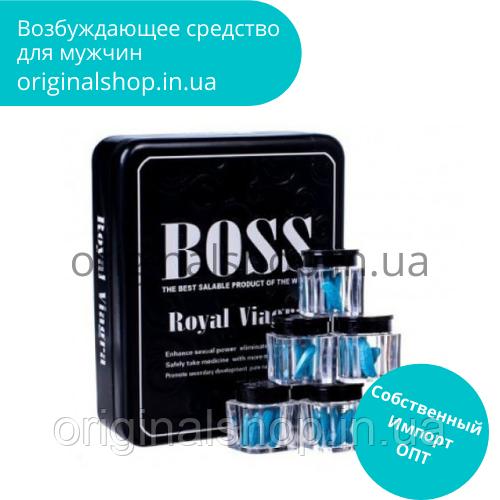 Капсулы для потенции, Boss Royal Босс Роял  27 таблеток, возбуждающие средства для мужчин