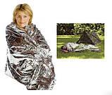 Спасательное термо одеяло 210x130, фото 2