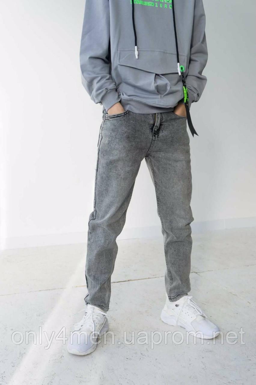 Джоггеры джинсовые на рост 146-170см