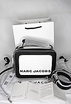 Сумка Marc Jacobs (Марк Джейкобс) The Textured Mini Box Bag usa (M0014506-164), фото 3