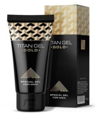 """Гель для увеличения пениса, """"Titan Gel Gold"""""""