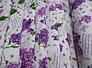 Ткань вафельная ширина 150 см Ветка сирени, фото 2
