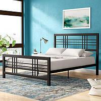 Кровать GoodsMetall металлическая в стиле LOFT 2000х1600х1200 К101