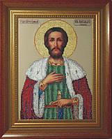 Набор для вышивания бисером икона Святой Александр