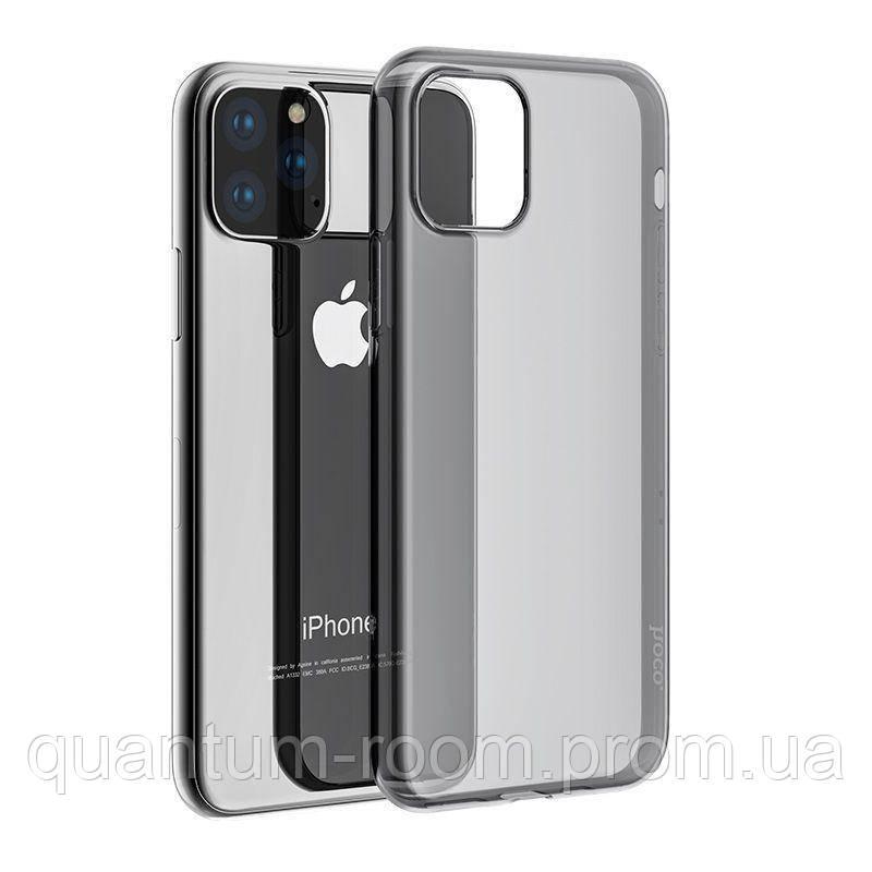 Черная Накладка Hoco Light Series TPU iPhone 11