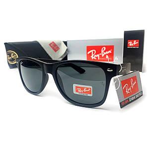 Солнцезащитные Очки R-B Wayfarer Черные Матовые
