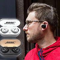 Беспроводные наушники Bluetooth BOSE TWS-2, Bluetooth наушники с боксом для зарядки (черного и белого цвета)/